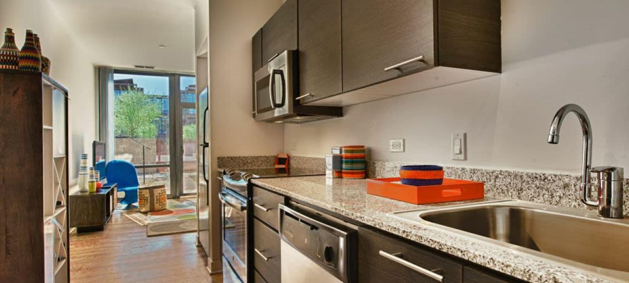 Luxury kitchen at Domus in Phoenix, Arizona