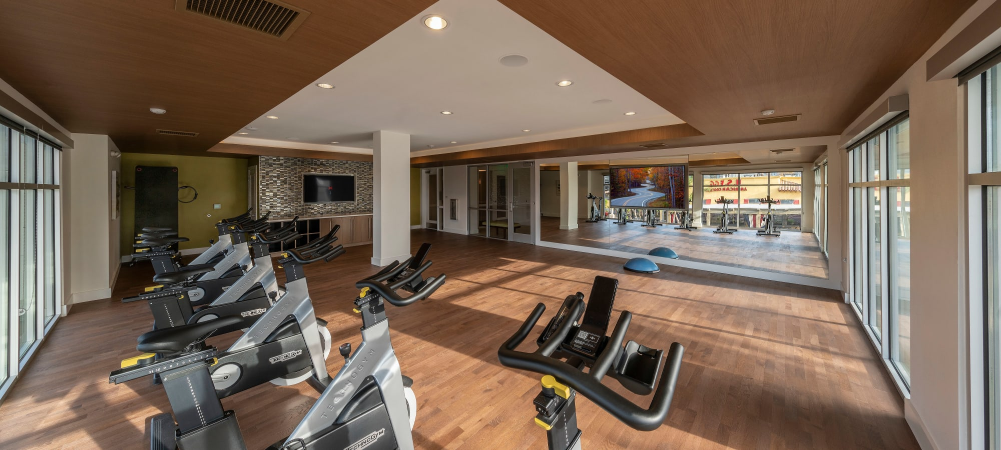 Well-equipped fitness center at Carter in Scottsdale, Arizona