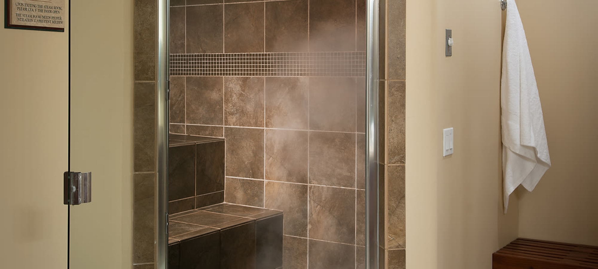 Steam rooms at San Cervantes in Chandler, Arizona