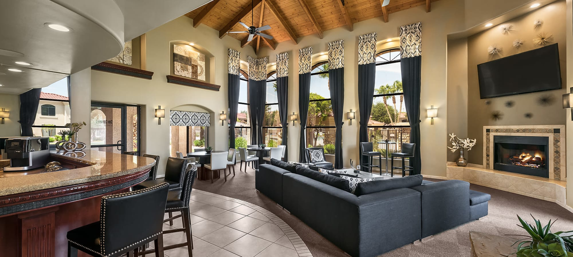 Spacious Clubhouse at San Cervantes in Chandler, Arizona