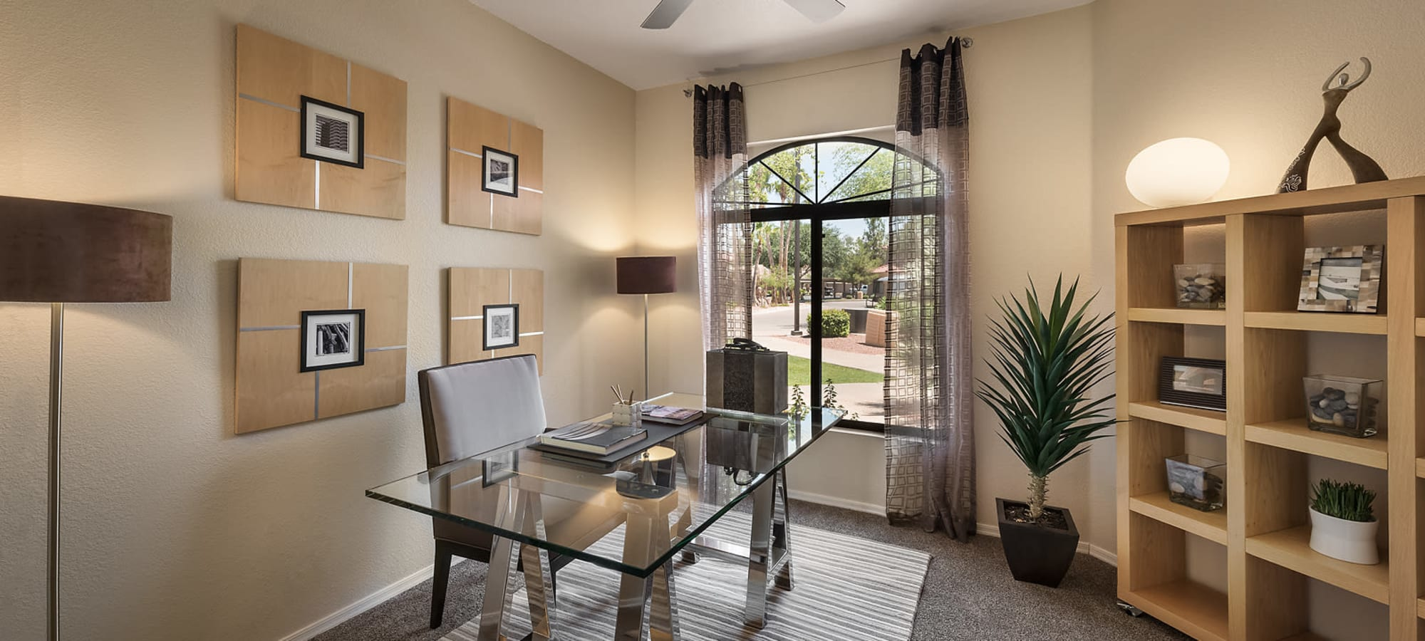Large guest bedroom or office at San Cervantes in Chandler, Arizona