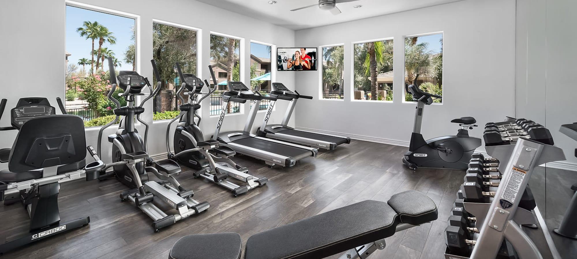Fitness Center at Laguna at Arrowhead Ranch in Glendale, Arizona
