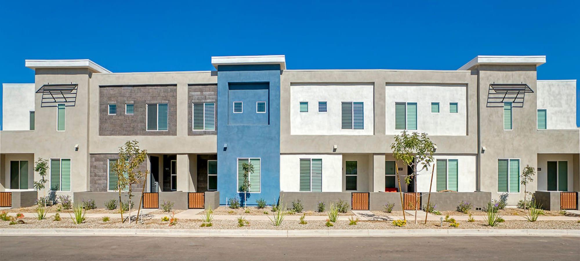 building exterior at BB Living at Val Vista in Gilbert, Arizona