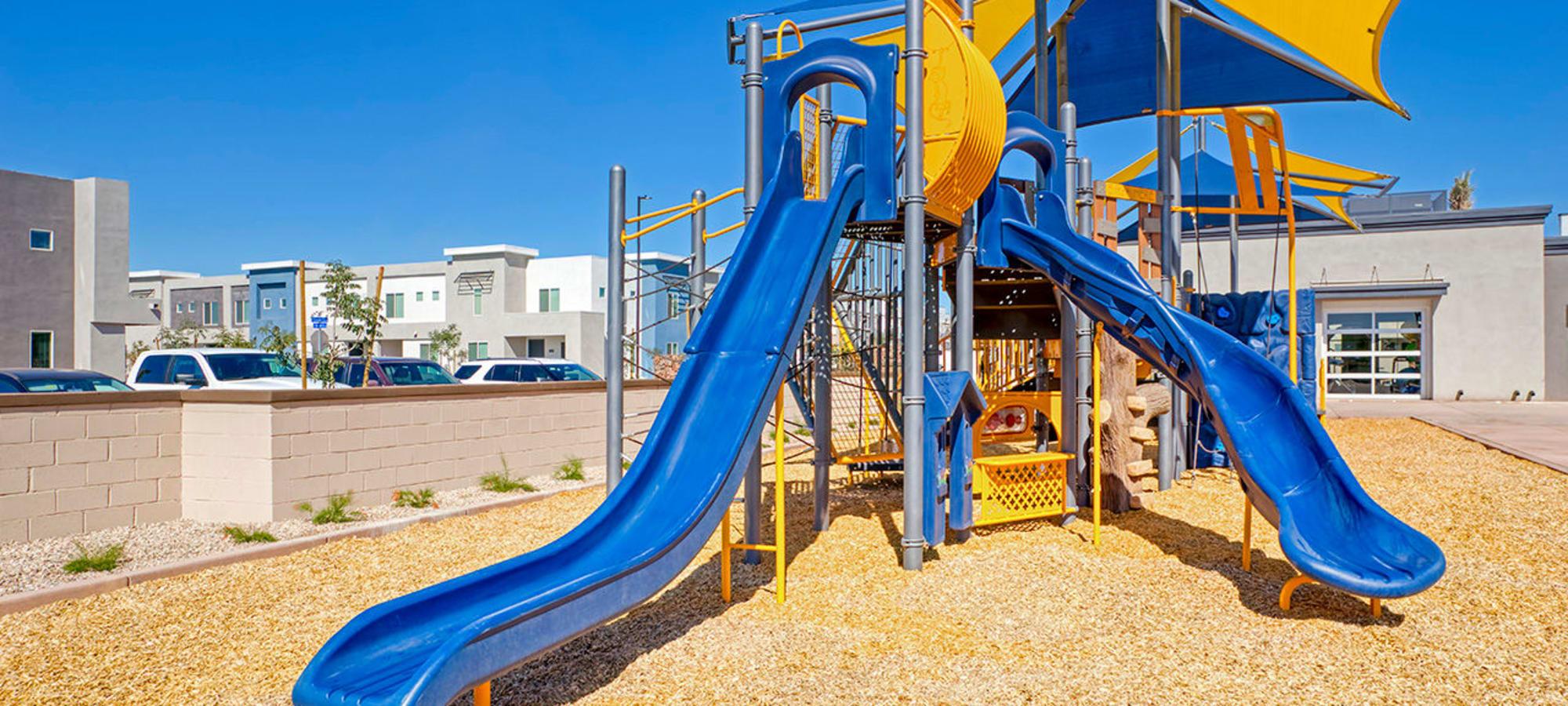 playground at BB Living at Val Vista in Gilbert, Arizona