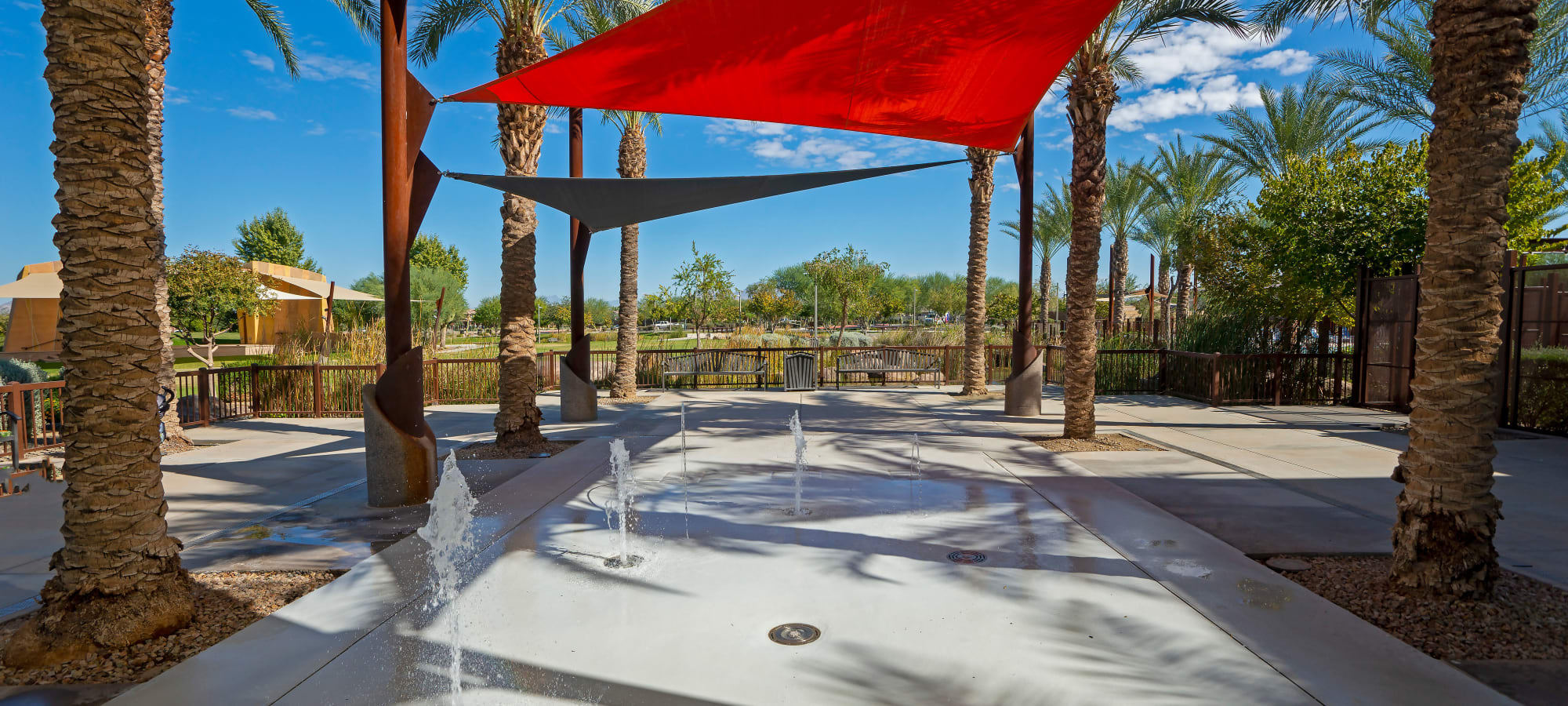 Fountains at BB Living at Eastmark in Mesa, Arizona