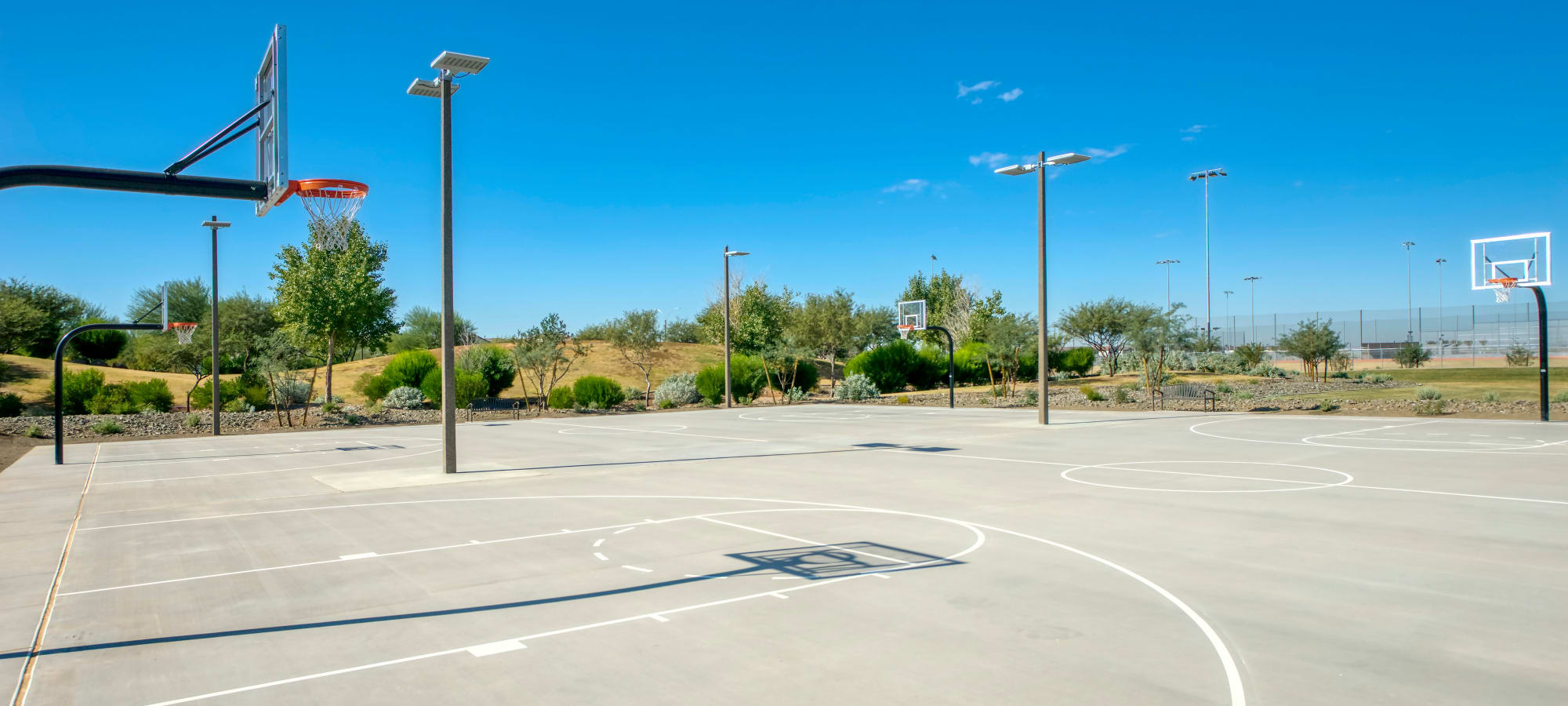 Basketball court available at BB Living at Eastmark in Mesa, Arizona