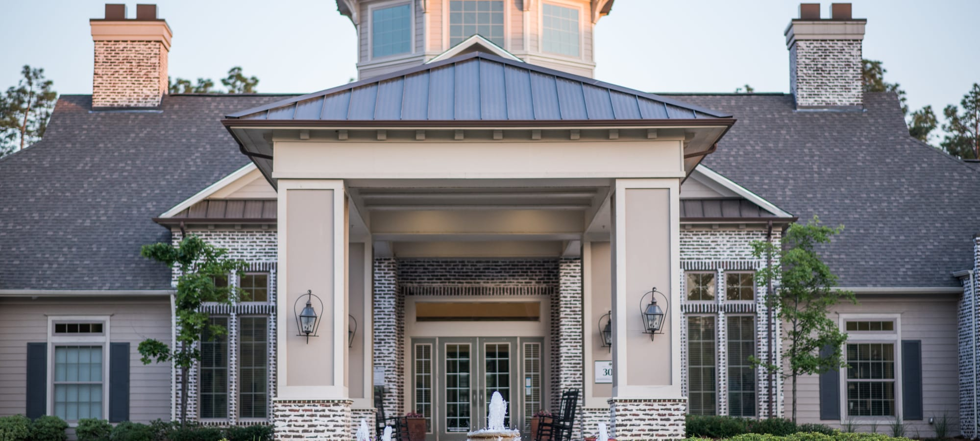 Senior living community at The Claiborne at Hattiesburg Independent Living in Hattiesburg, Mississippi.