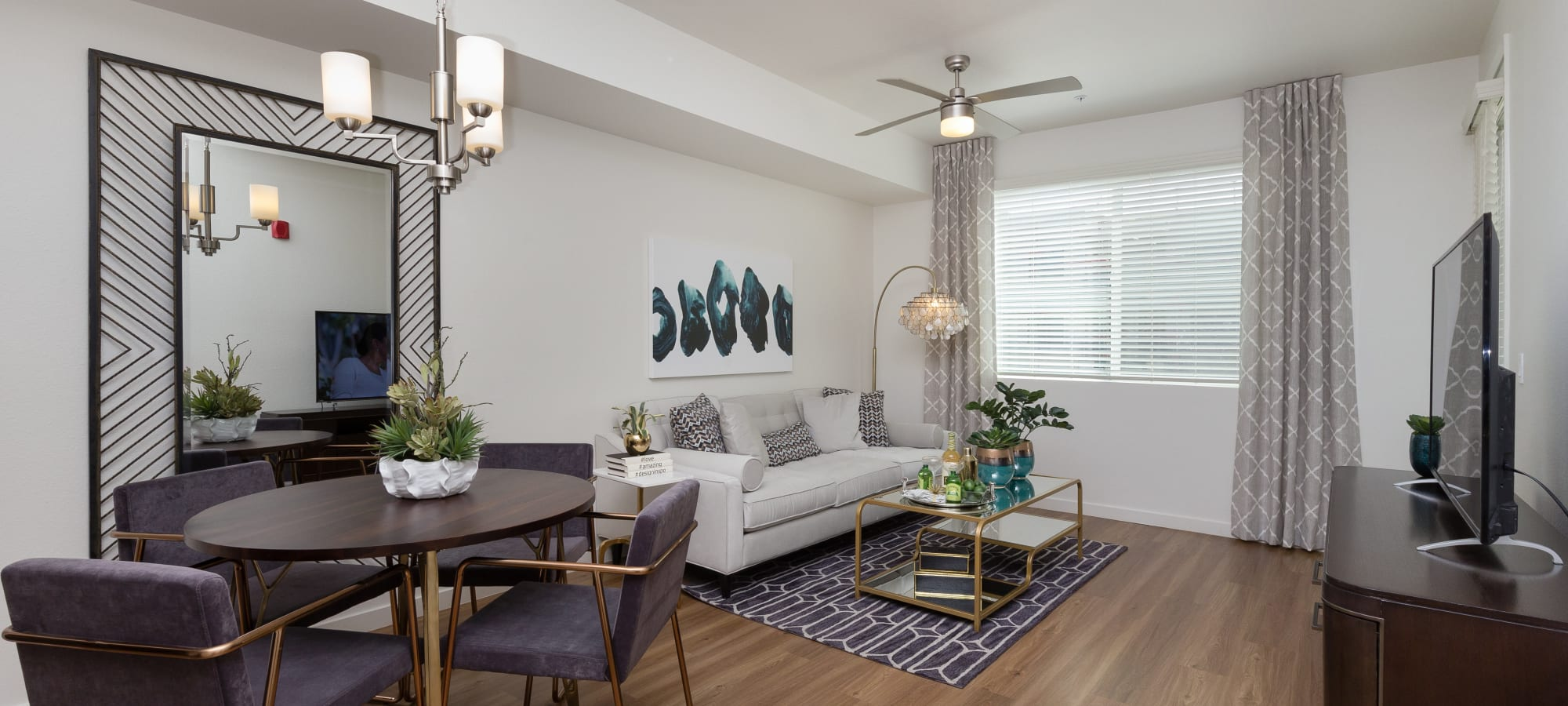 Spacious open floor plans at Park Place at Fountain Hills in Fountain Hills, Arizona