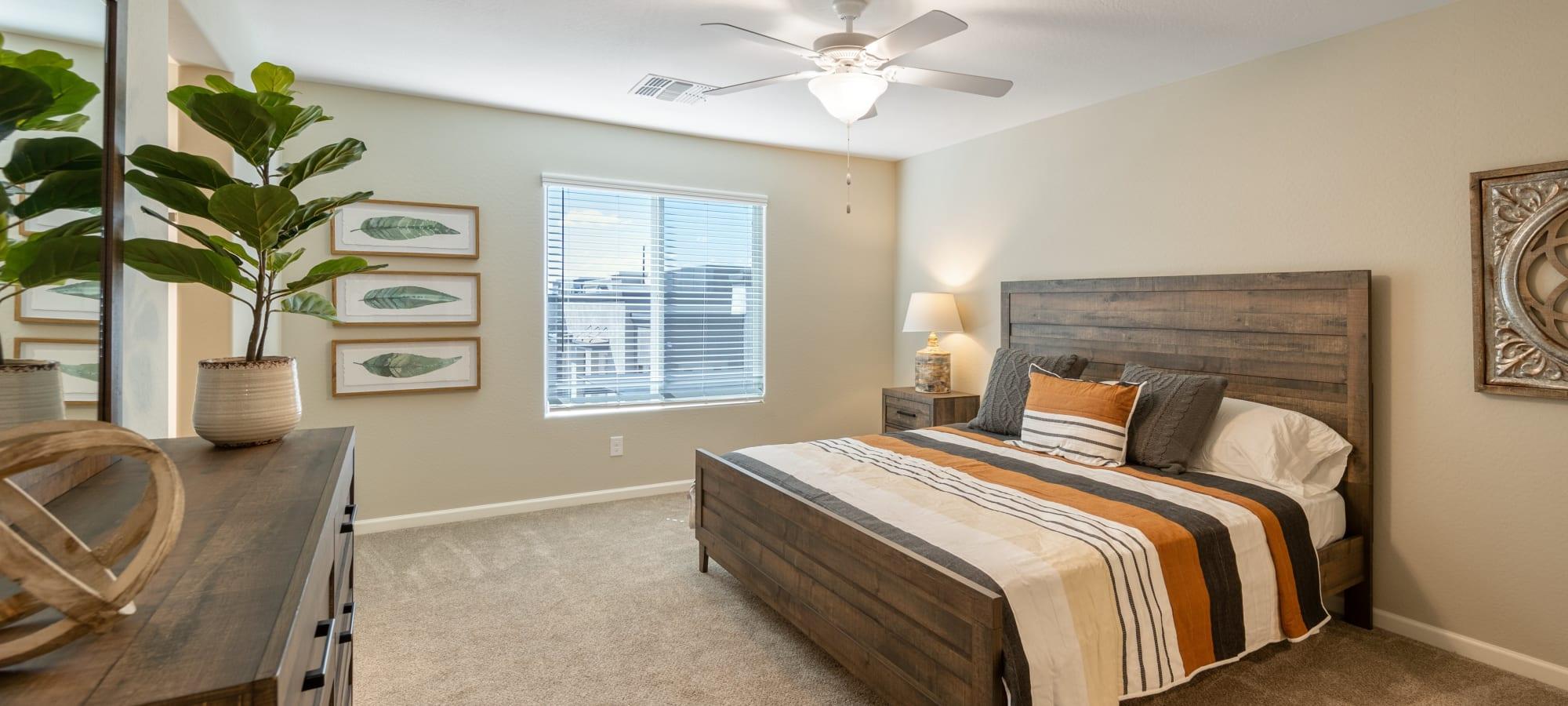 Master Bedroom at BB Living at Val Vista in Gilbert, Arizona