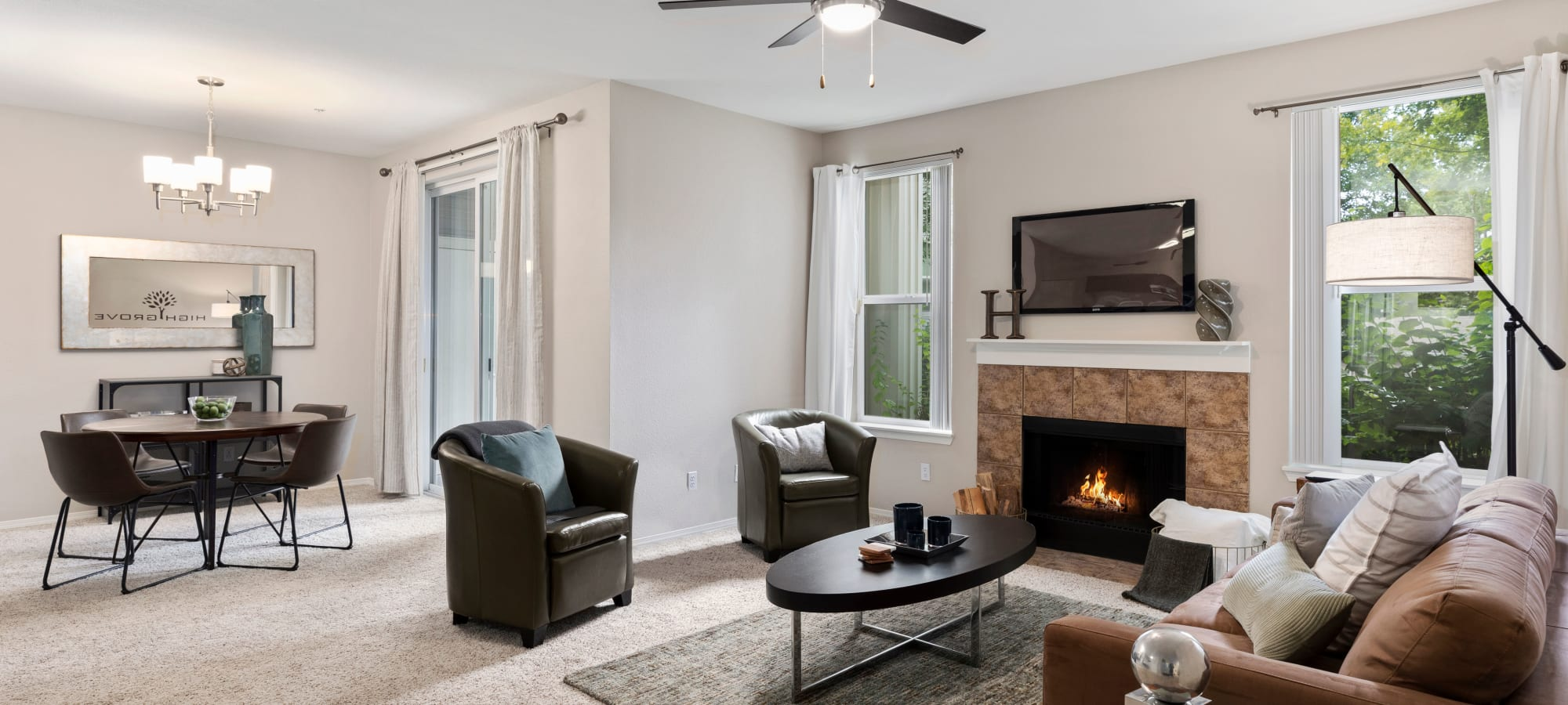 Everett, Washington apartments at HighGrove Apartments