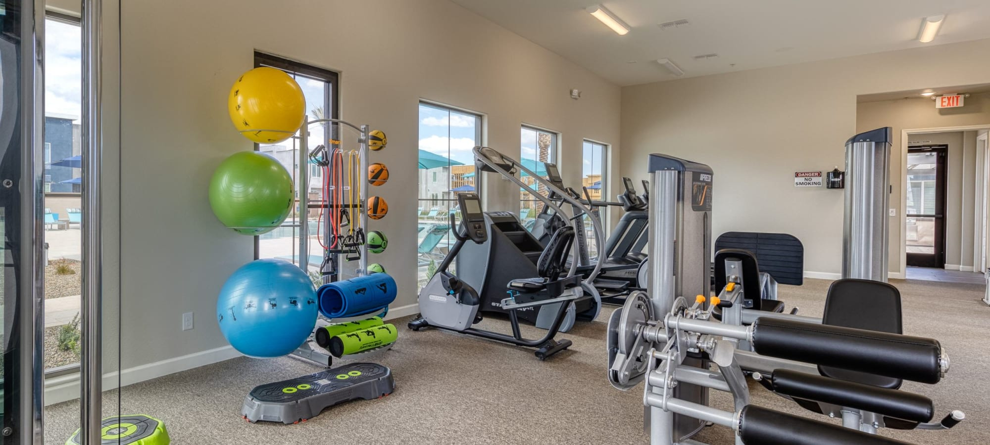 Fitness Center at Las Casas at Windrose in Litchfield Park, Arizona
