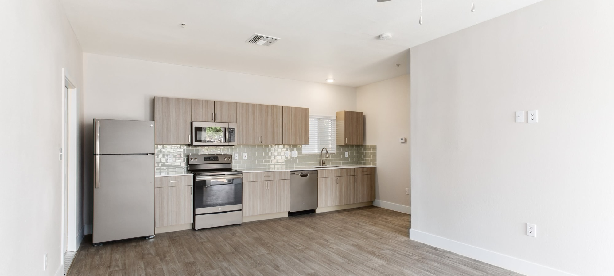 Large kitchen layout at The Sterling in Gilbert, Arizona