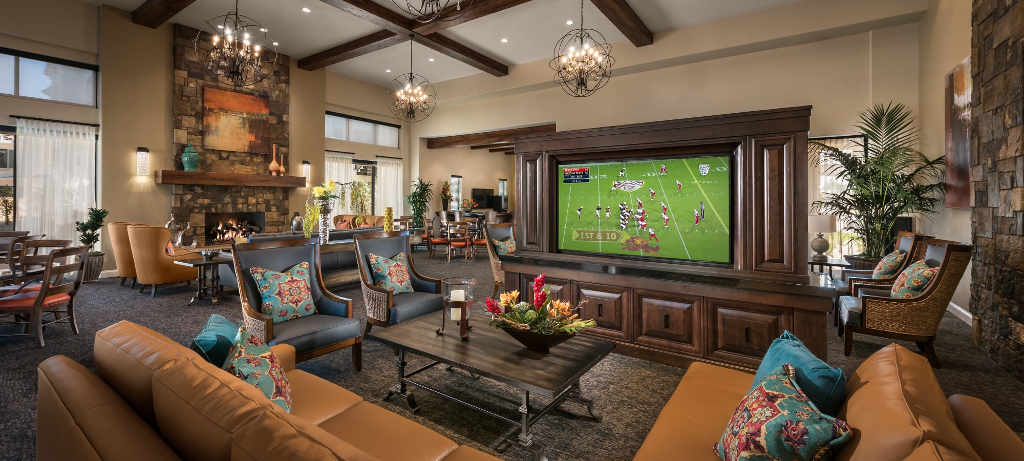 Clubhouse at San Artes in Scottsdale, Arizona