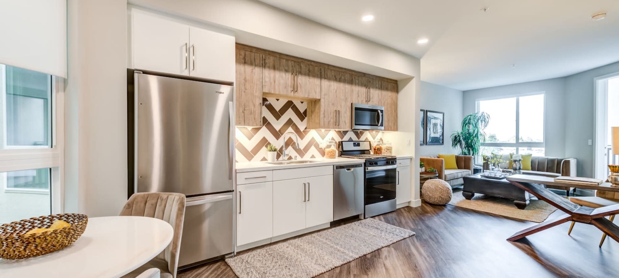 Floor plans at The Link in Glendale, California