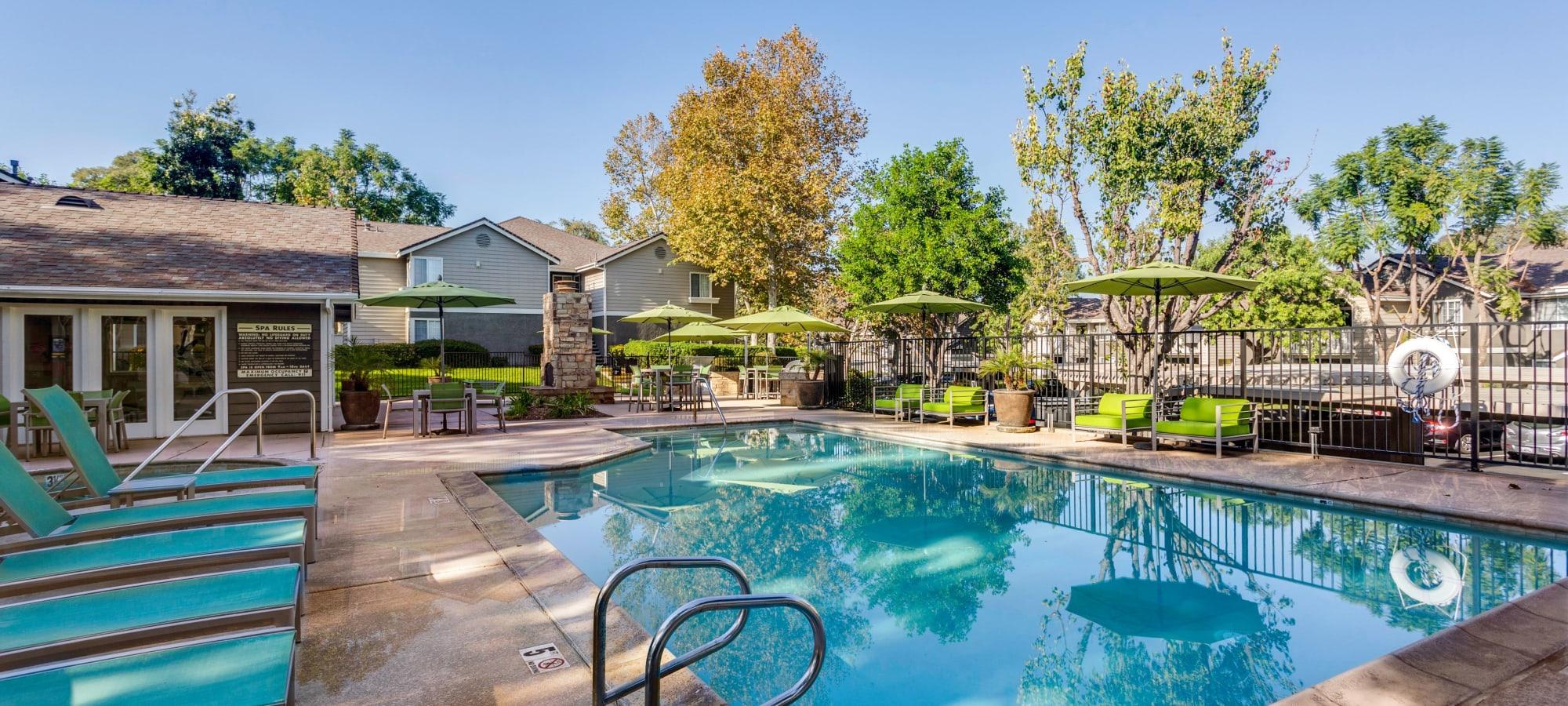 Chino Hills, California apartments at Village Oaks