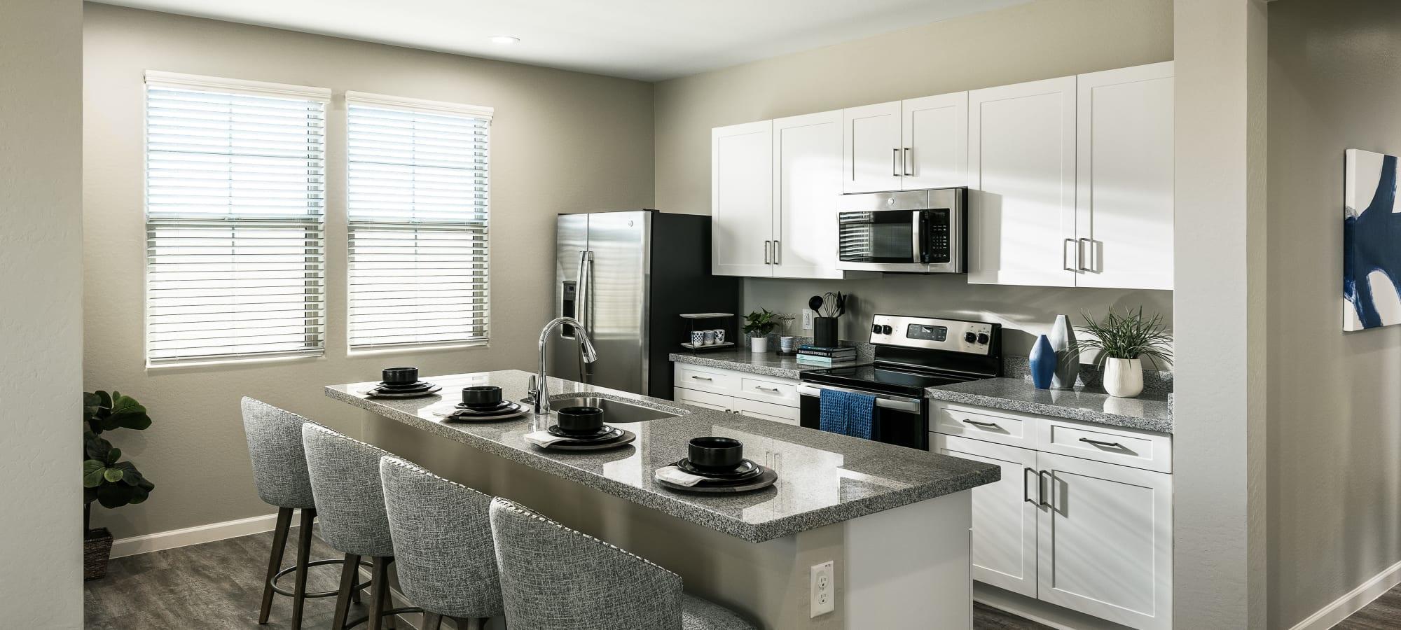 Kitchen at Las Casas at Windrose in Litchfield Park, Arizona
