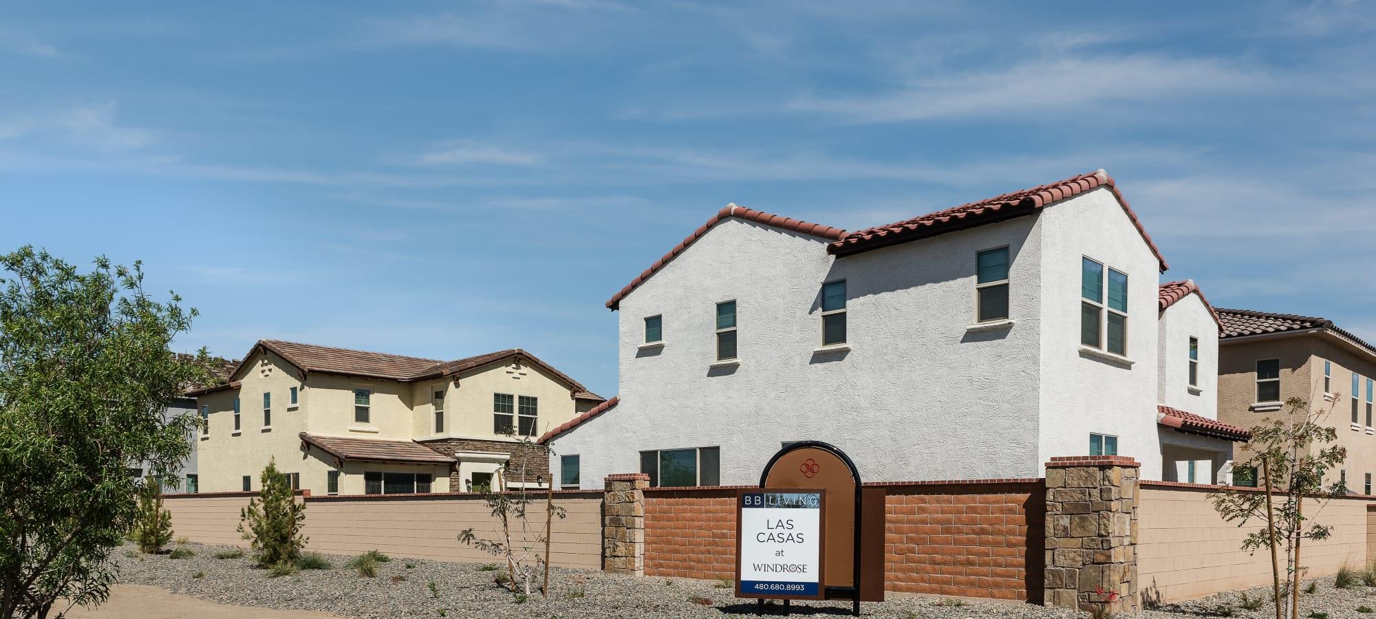Street Exterior at Las Casas at Windrose in Litchfield Park, Arizona