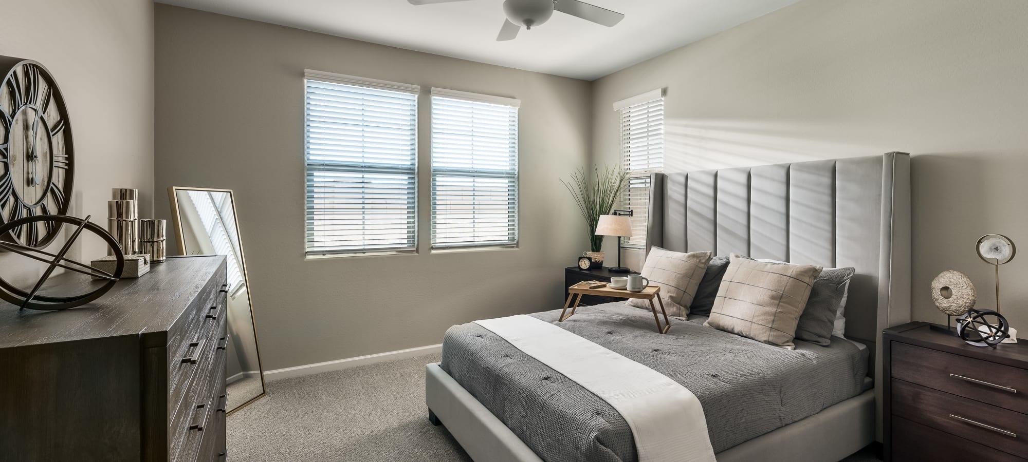 Master Bedroom at Las Casas at Windrose in Litchfield Park, Arizona