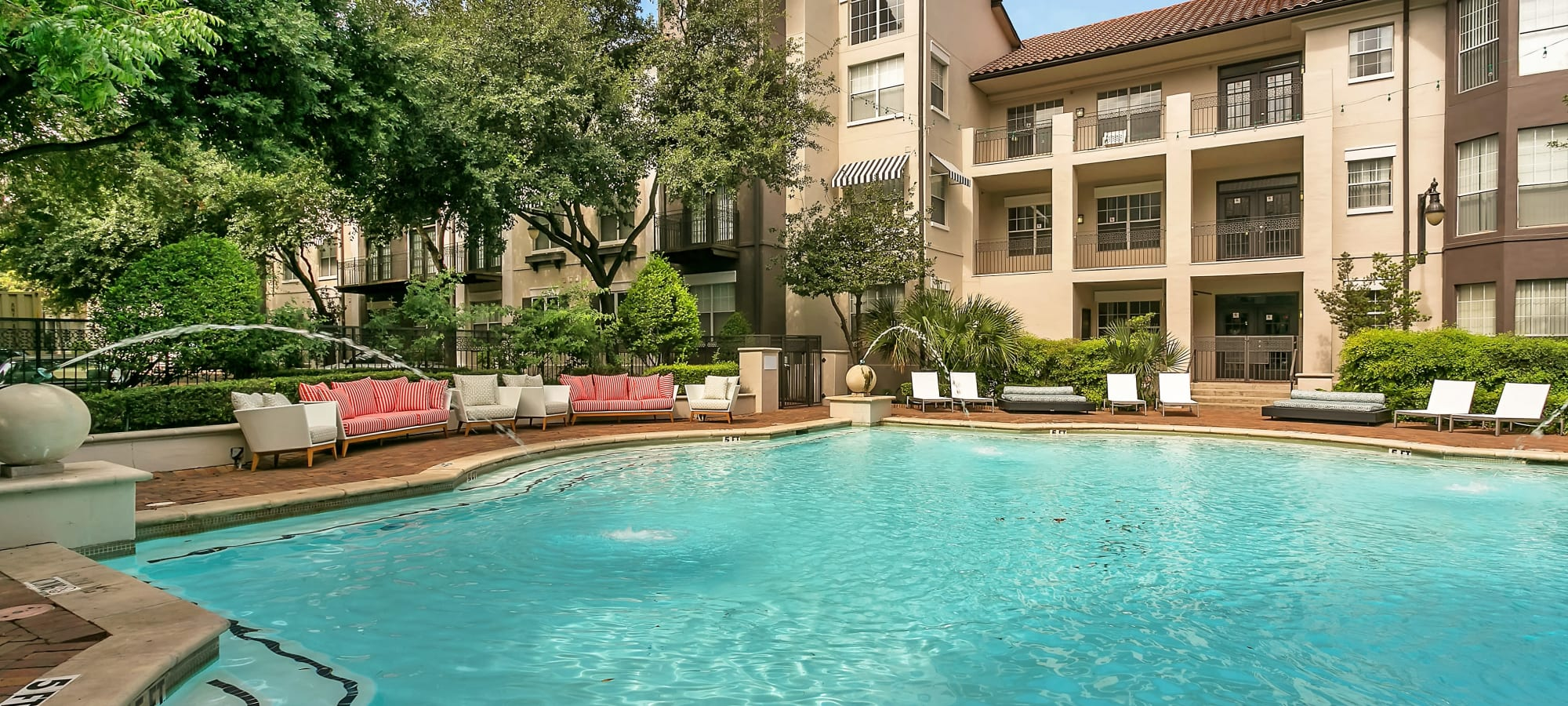 Apartments at Alesio Urban Center in Irving, Texas