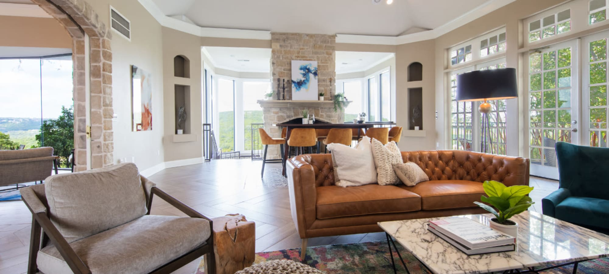 Floor plans at Marquis at Treetops in Austin, Texas