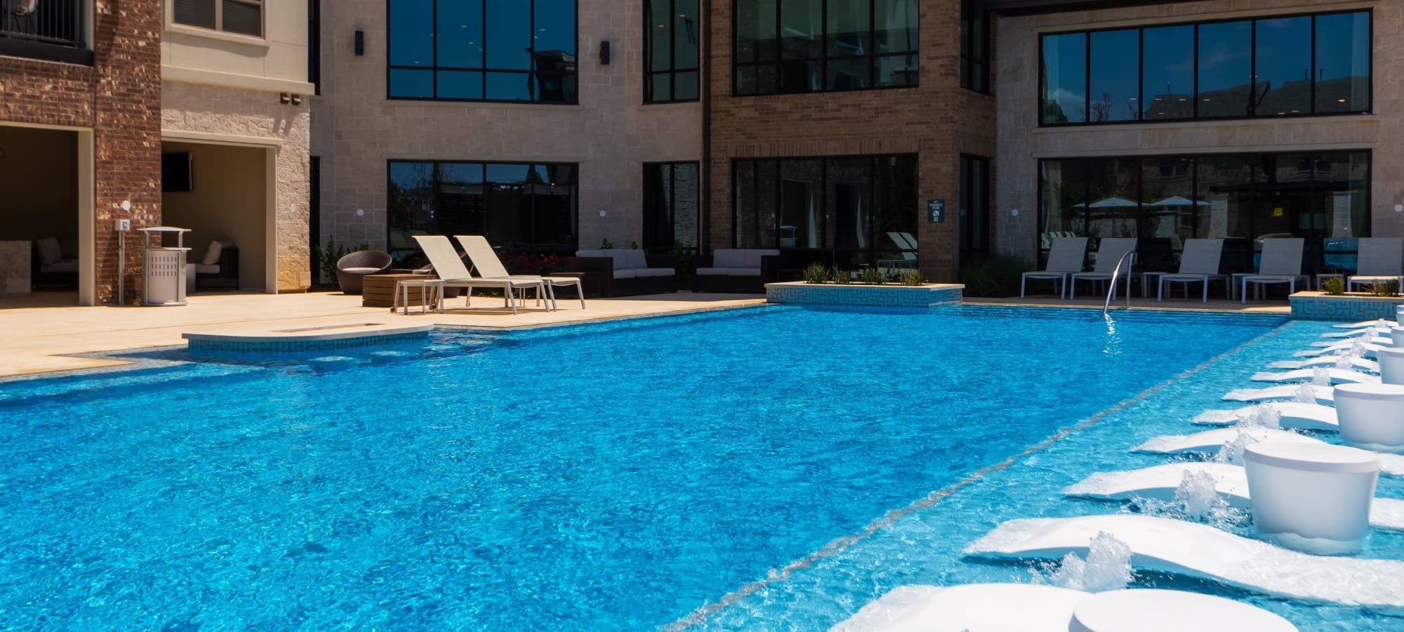 Apartments with pool at Domain at Founders Parc in Euless, Texas