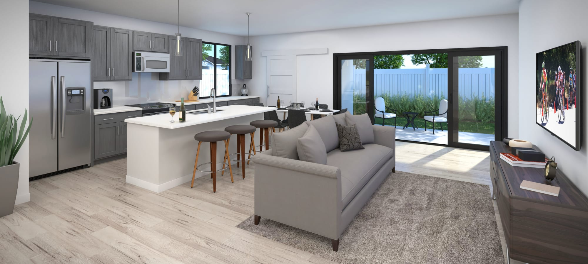 Interior rendering of EVR Spur Cross home in Queen Creek, Arizona