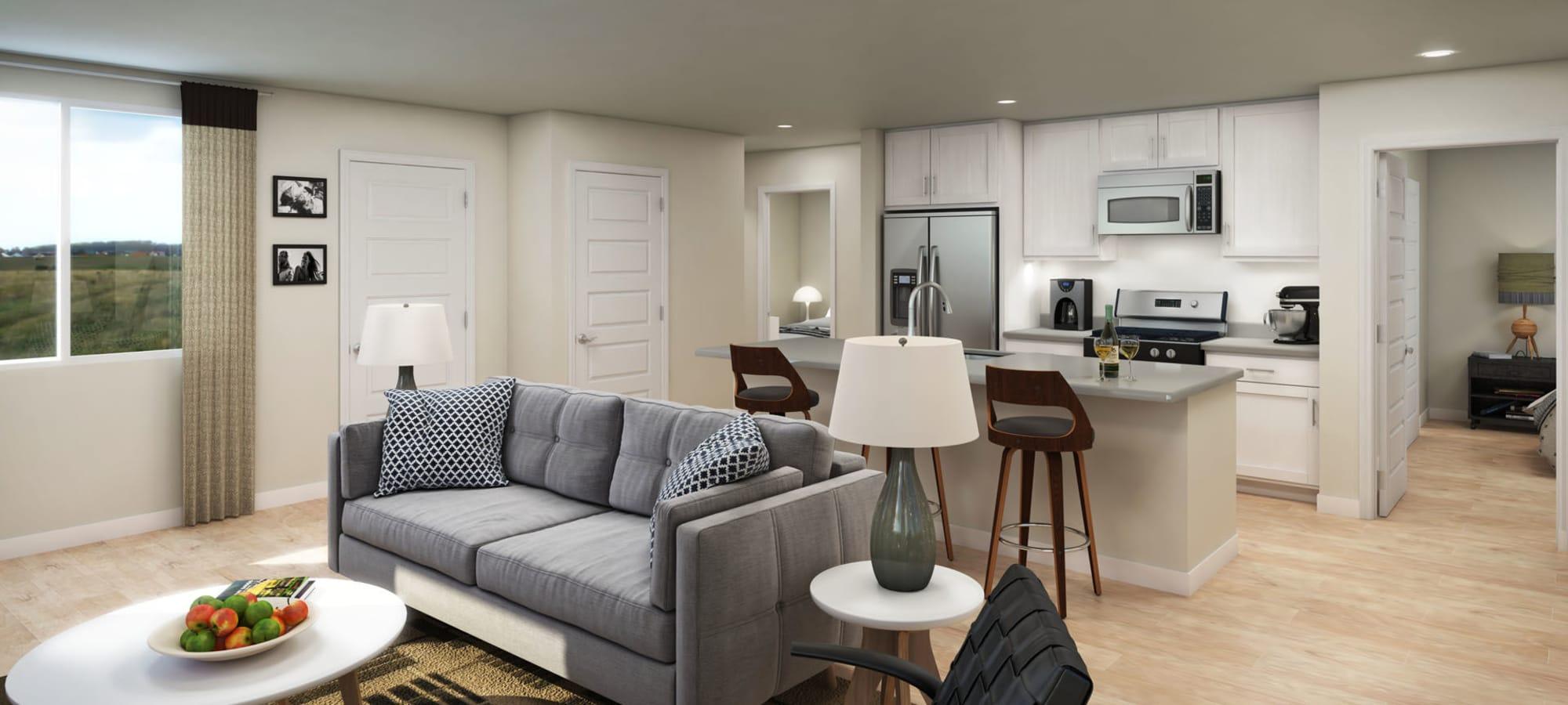 Interior home rendering at Peralta Vista in Mesa, Arizona