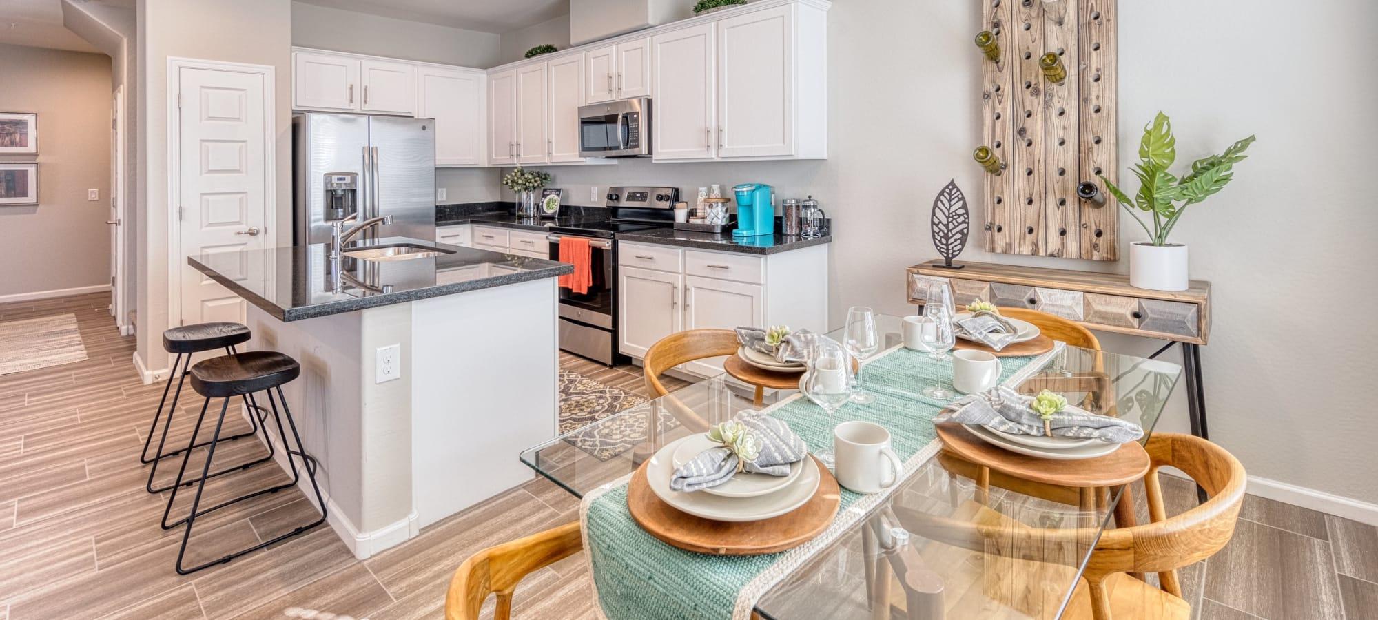 Modern and spacious kitchen at BB Living at Eastmark in Mesa, Arizona