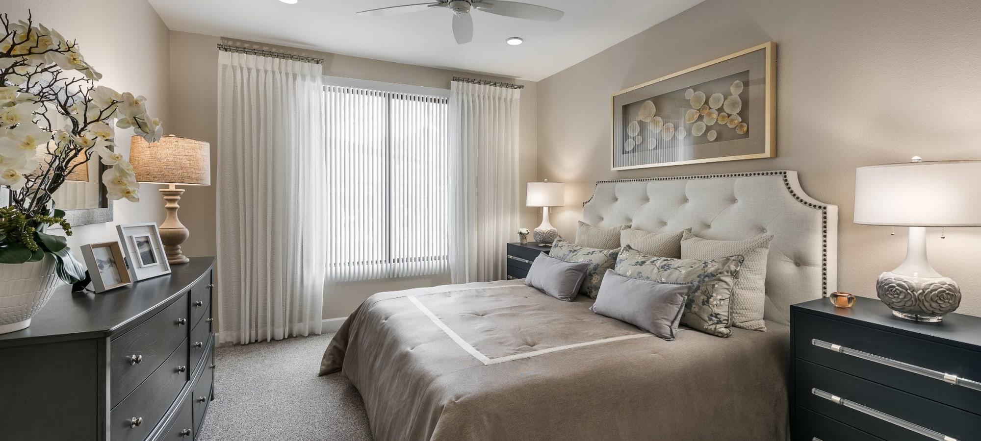 Spacious bedroom at San Artes in Scottsdale, Arizona