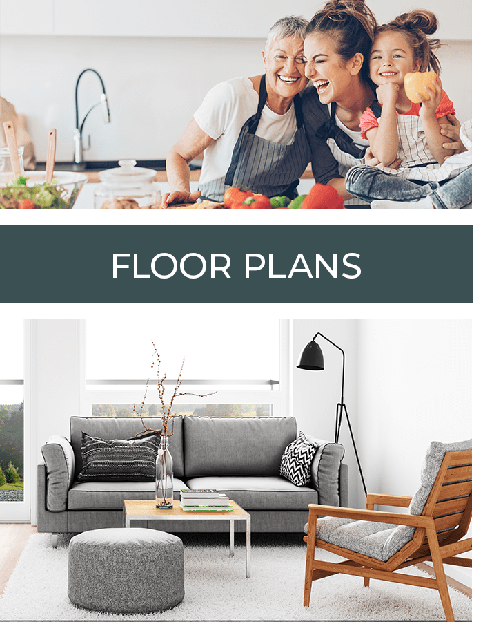 See our floor plans at LARC at Burien in Burien, Washington