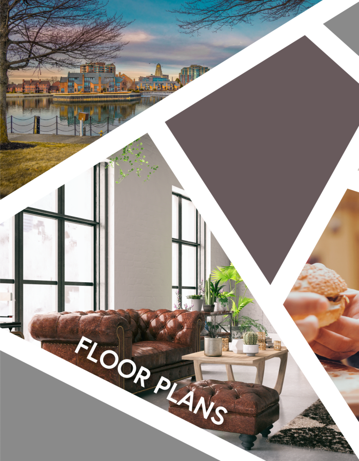 View floor plans at The Forge in Buffalo, New York
