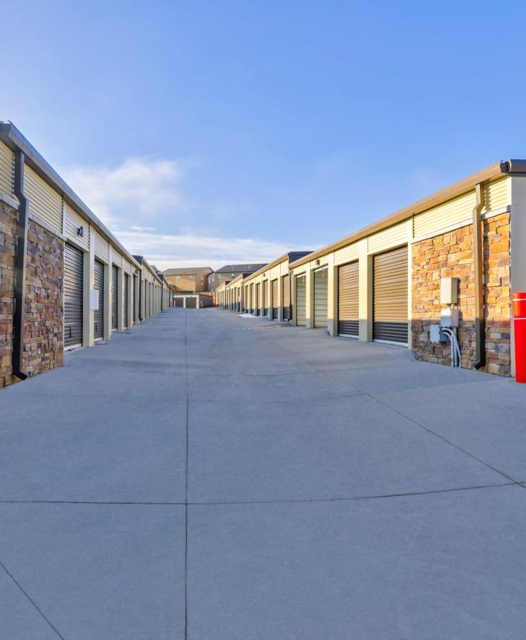 Outdoor units at StorQuest Self Storage in Aurora, Colorado