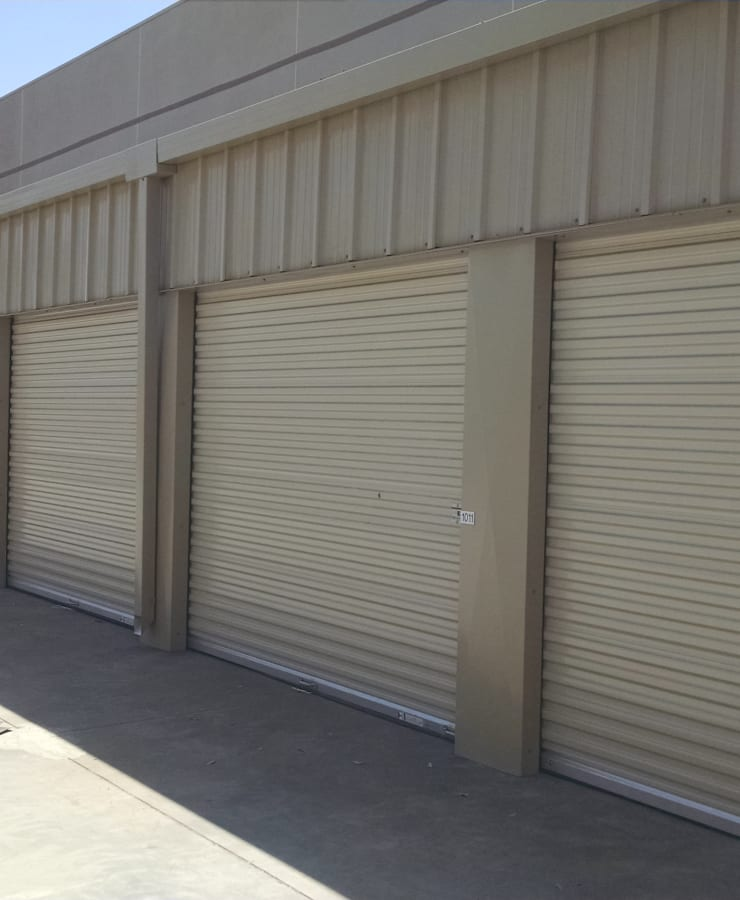 Facade and outdoor units at StorQuest Self Storage in Richmond, California