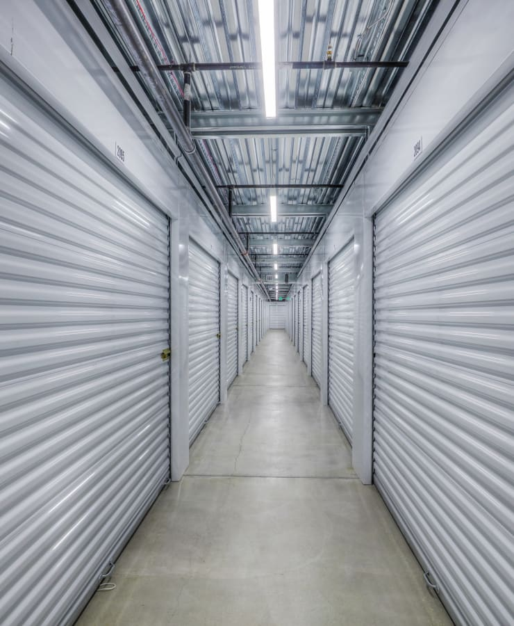 Indoor units at StorQuest Self Storage in Lake Stevens, Washington
