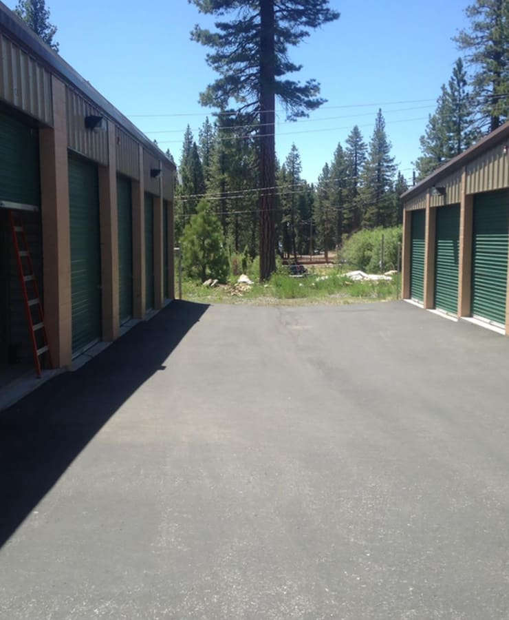 The exterior of the main entrance at StorQuest Express - Self Service Storage in Tahoe Vista, California