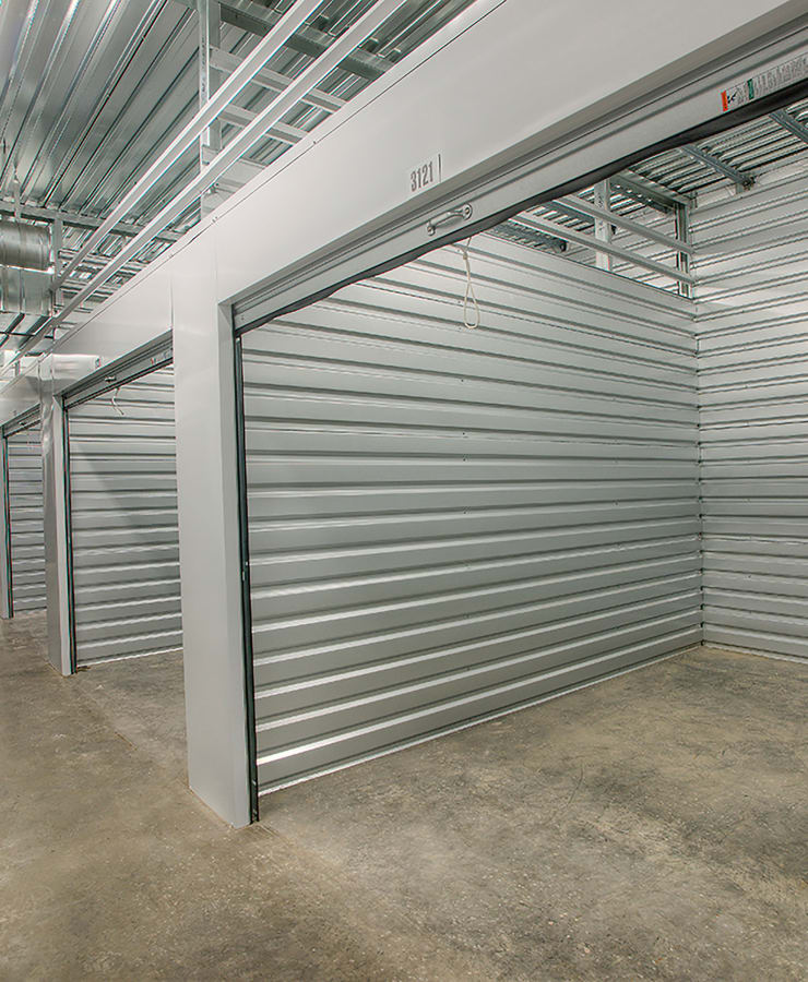 Large indoor units at StorQuest Express - Self Service Storage in Tahoe Vista, California