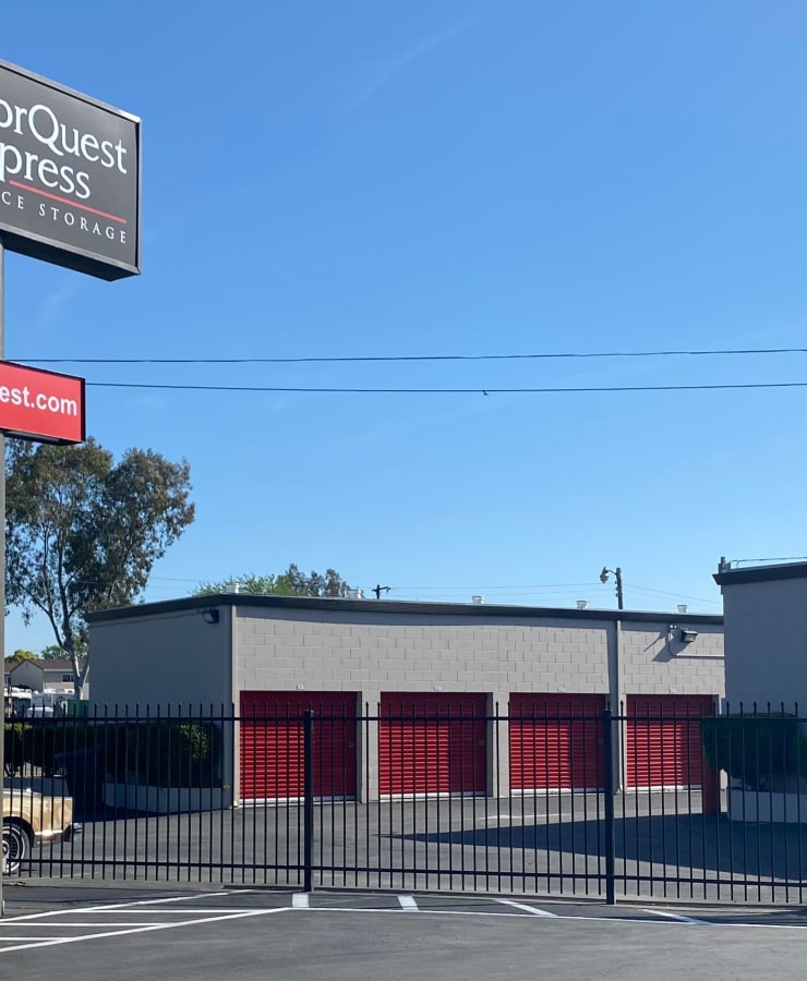 Exterior view of the facility at StorQuest Express - Self Service Storage in Sacramento, California