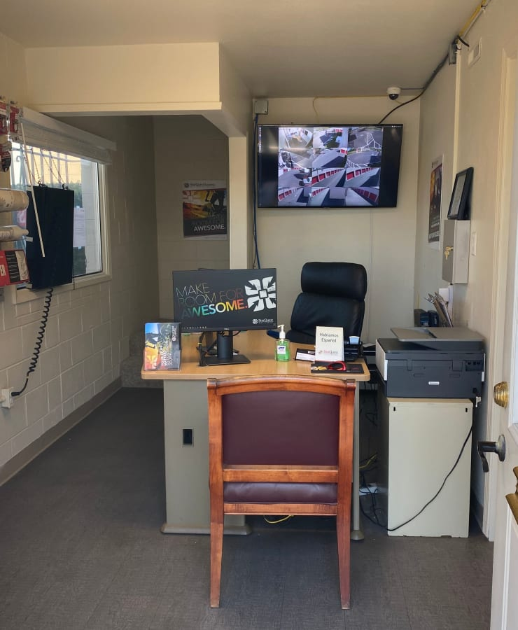 Main office at StorQuest Express - Self Service Storage in Sacramento, California