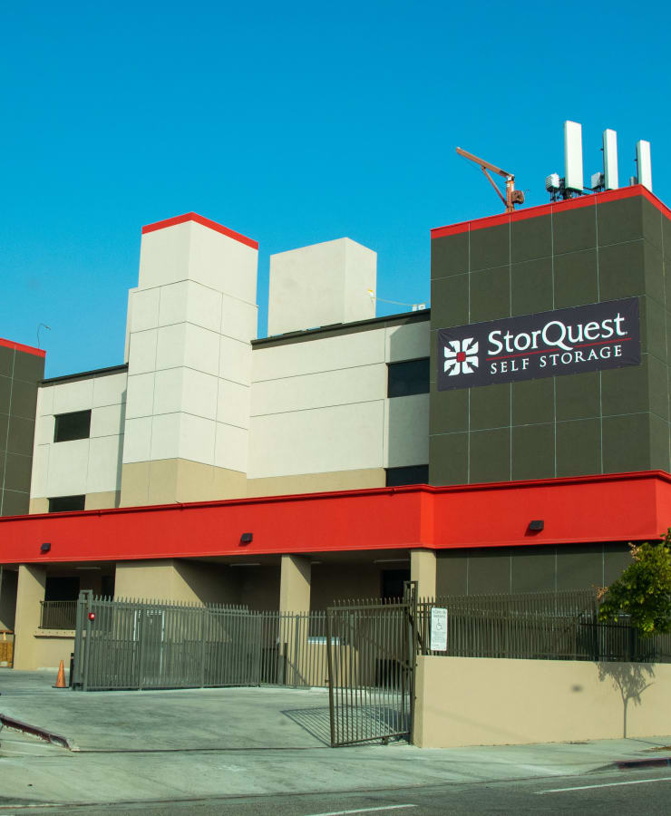 Exterior at StorQuest Self Storage in Los Angeles, California