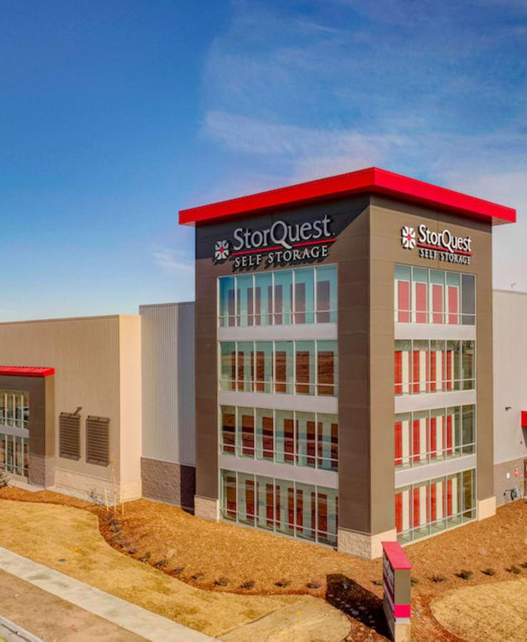 Exterior at StorQuest Self Storage in Denver, Colorado