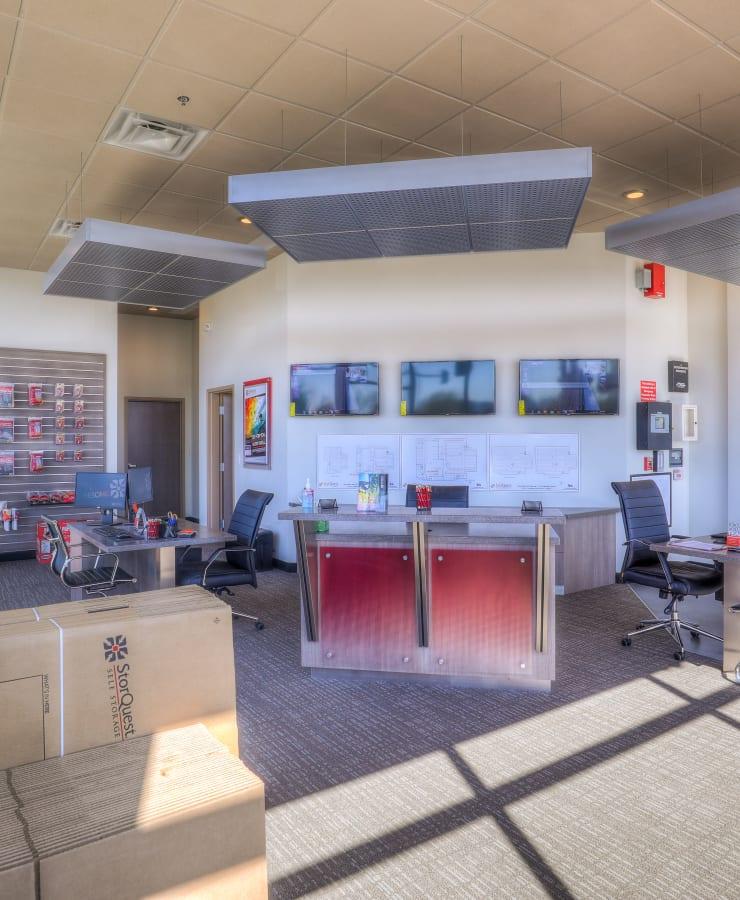 Office at StorQuest Self Storage in Denver, Colorado