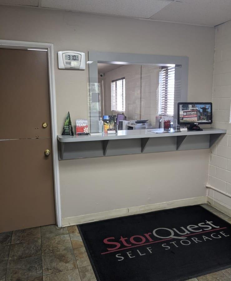 Main office at StorQuest Self Storage in Westlake Village, California