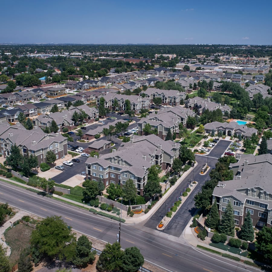 View neighborhood hot spots at Legend Oaks Apartments in Denver, Colorado