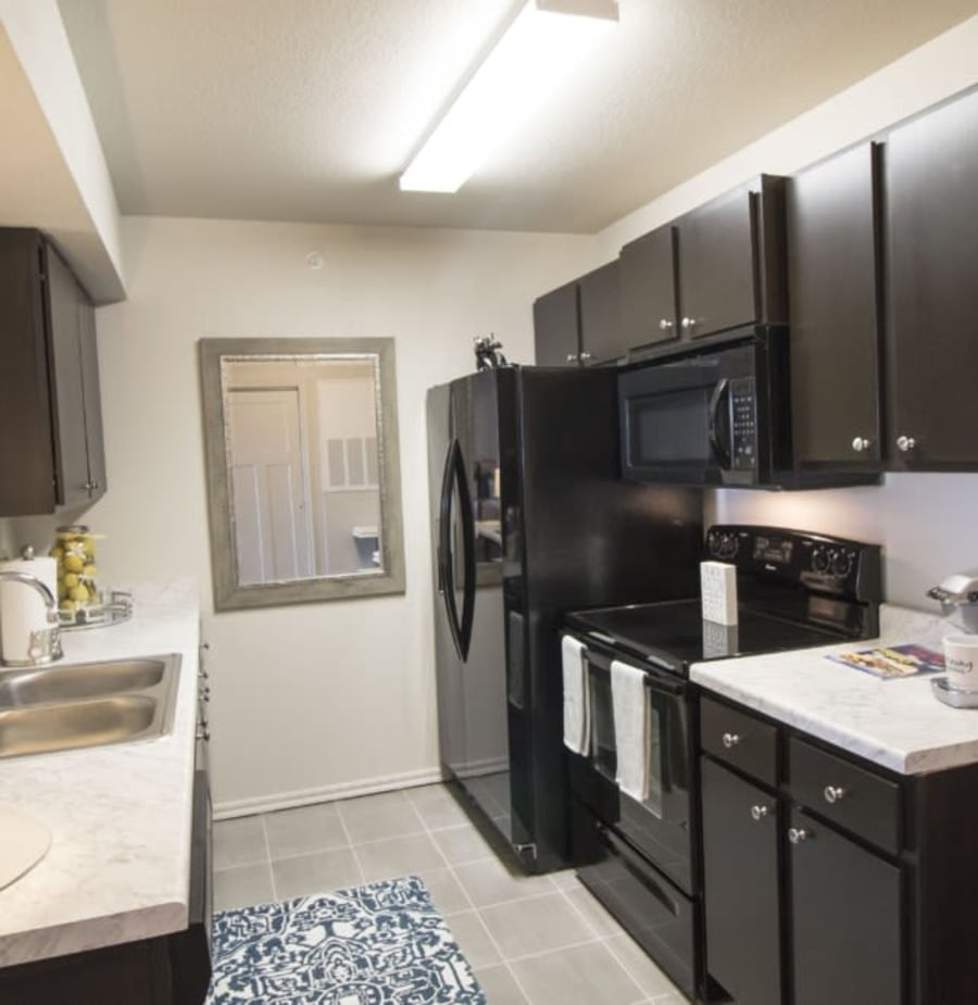 Spacious kitchen at Legacy Trail in Norman, Oklahoma