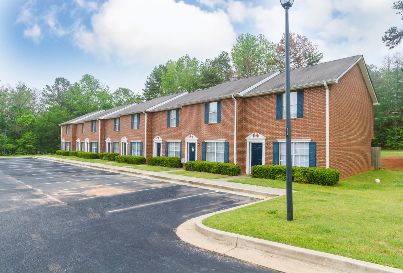 Community amenities at Mount Olive Townhomes