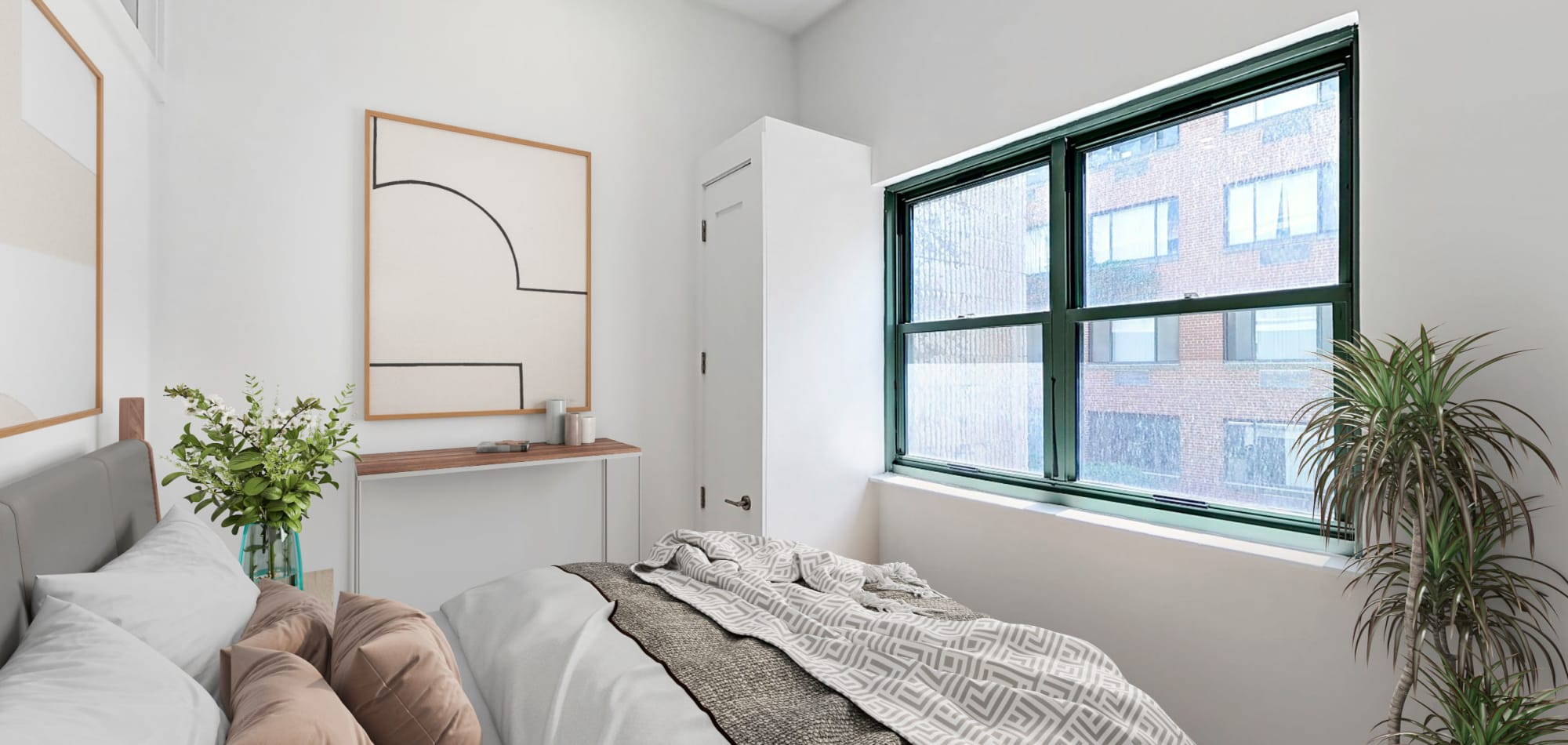 Bedroom view at 210-220 E. 22nd Street in New York, New York