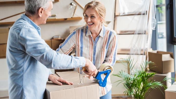 Seniors Downsizing and Moving