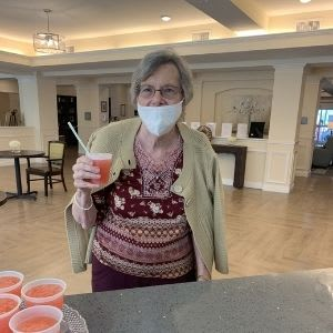 Resident at Harmony Senior Services