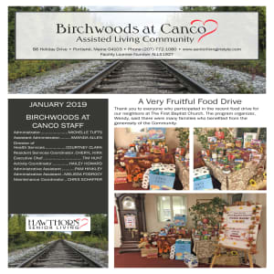 January Birchwoods at Canco Assisted Living Newsletter