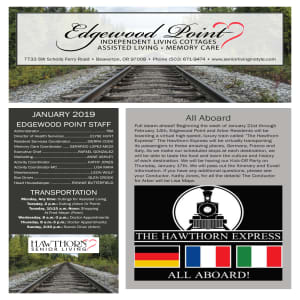 January Edgewood Point Assisted Living Newsletter
